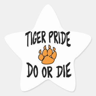 CHS Do or Die Star Sticker