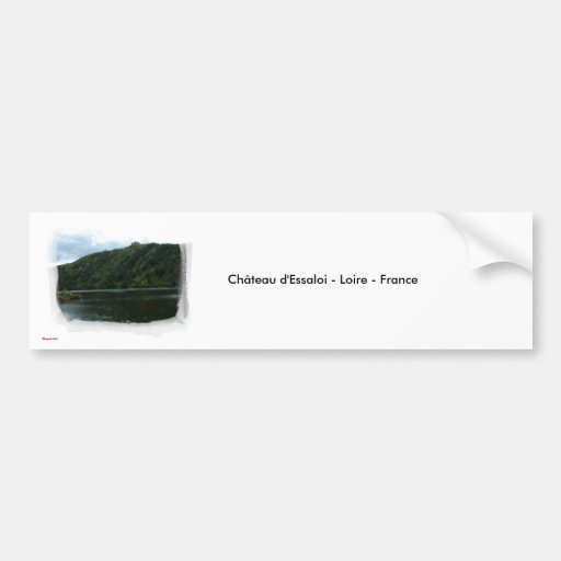 Chteau-d' Essaloi-Loire-2, Chteau d'Essal… Pegatina Para Auto