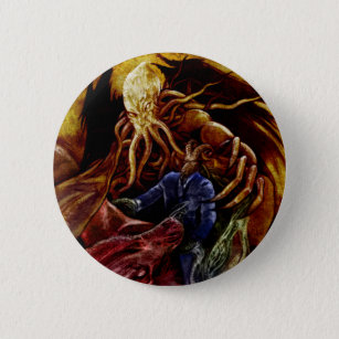 Chthulhu Domine Pinback Button