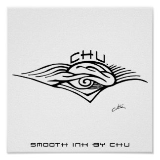 Chu Logo Poster