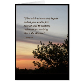 Chuang Tzu - quote Card