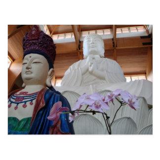 Chuang Yen Monastery - New York State Postcard