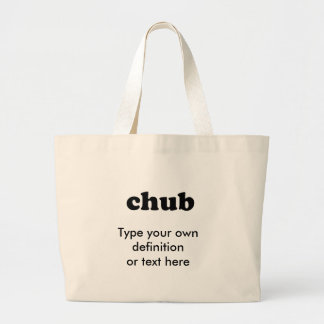 CHUB JUMBO TOTE BAG