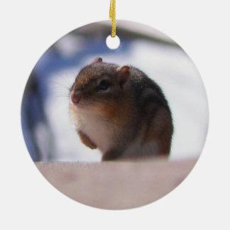 Chubbers el Chipmunk Ornamento Para Reyes Magos