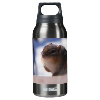 Chubbers the Chipmunk Insulated Water Bottle