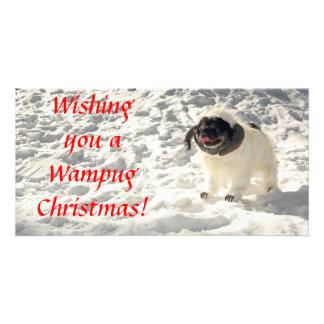 Chubbs The Wampug Christmas Card