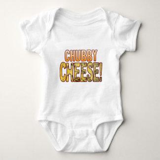 Chubby Blue Cheese Baby Bodysuit