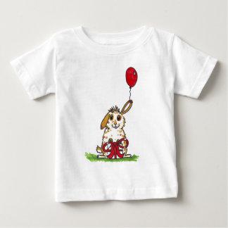 Chubby bunny birthday 'Molly' Baby T-Shirt