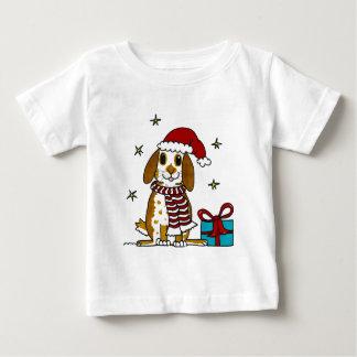 Chubby bunny Christmas design Baby T-Shirt
