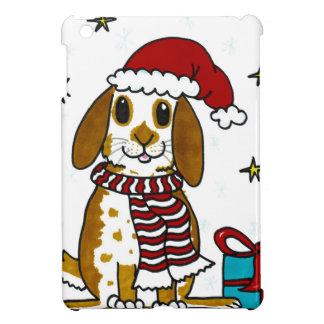 Chubby bunny Christmas design iPad Mini Cover