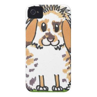 Chubby bunny 'Holly' Design iPhone 4 Case