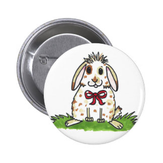 Chubby bunny 'Mini' Design 2 Inch Round Button