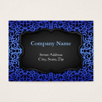 Chubby Business Card Baroque Style Inspiration
