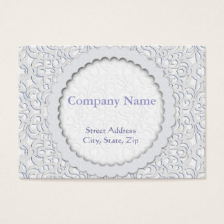 Chubby Business Card Damask Style Inspiration