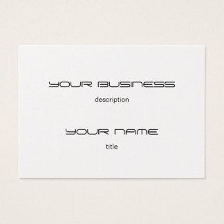 Chubby Business Card Luxury Eexecutive Platinum