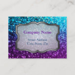 Chubby Business Card Mosaic Sparkley Texture