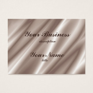 Chubby Business Card Std Paper Silk Champagne