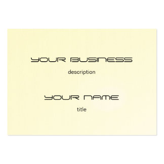 Chubby Business Card Template Premium  Eggshell