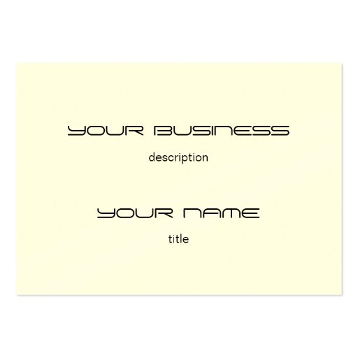 Standard business card template idealstalist standard business card template wajeb Images