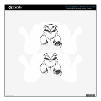 Chubby Cat Decal For PS3 Controller