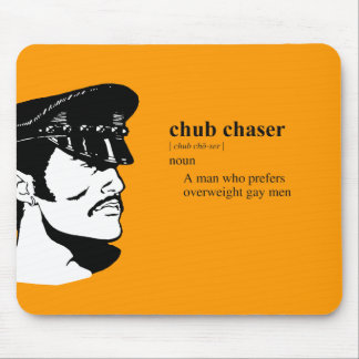 CHUBBY CHASER MOUSE PAD