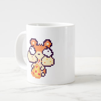 Chubby Cheeked Hamster Eating Pizza Pix 20 Oz Mug