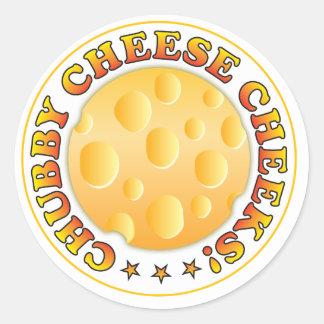 Chubby Cheese Cheeks Sticker