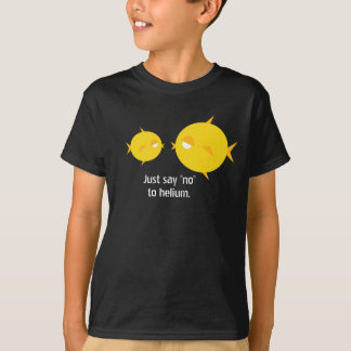 """Chubby Chick Lips_Just Say """"no"""" to helium T-Shirt"""