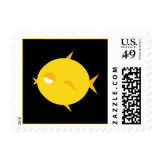 Chubby Chick Lips Postage Stamps