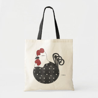 Chubby Chicken Budget Tote Bag