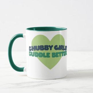 Chubby Girls cuddle better Mug