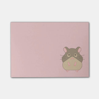 Chubby Hamster Post-it® Notes