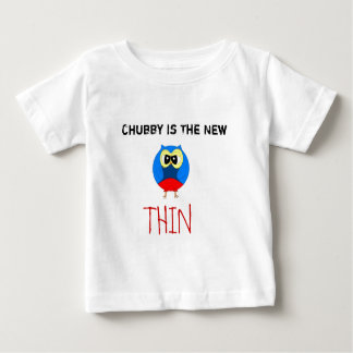 Chubby Hooty Owl Tshirts