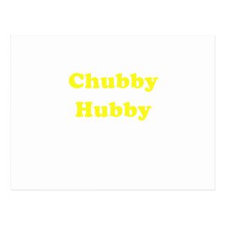 Chubby Hubby Postcard