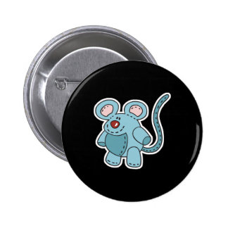chubby little mouse 2 inch round button