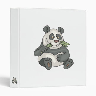 chubby little panda bear binder
