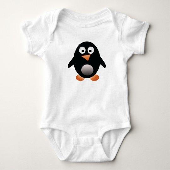 Chubby Little Penguin Baby Tee