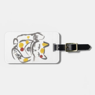 Chubby Lucky Cat Tag Luggage Tags