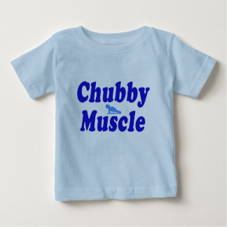 chubby muscle blue baby T-Shirt