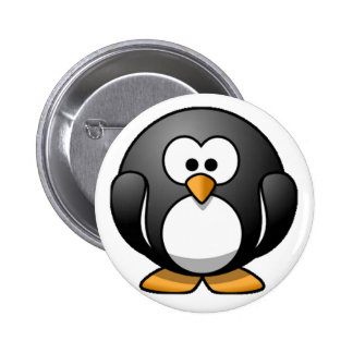 Chubby Penguin 2 Inch Round Button