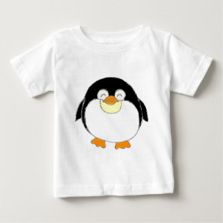 Chubby Penguin Baby Tee Shirts