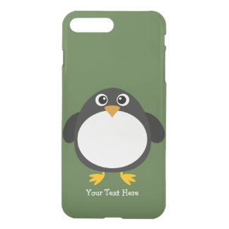 Chubby Penguin (customizable) iPhone 8 Plus/7 Plus Case