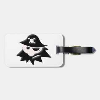Chubby Pirate Kid Tag For Luggage