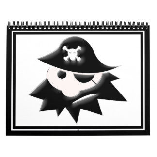 Chubby Pirate Kid (Talk Like a Pirate Day) Calendar