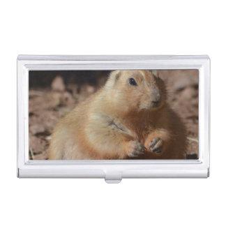 Chubby Prairie Dog Business Card Case