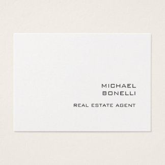 Chubby Real Estate Agent Business Card