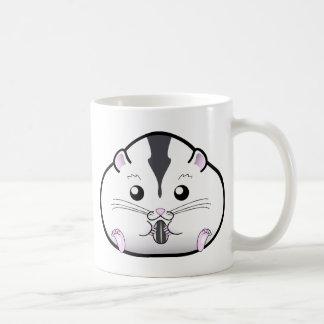 Chubby Semi White Russian Dwarf Hamster Classic White Coffee Mug