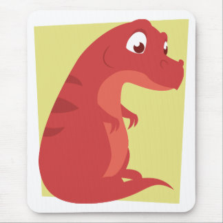 Chubby T-Rex Mouse Pads