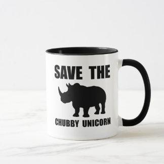 Chubby Unicorn Rhino Mug