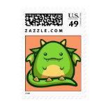 Chubs Dragon Stamp